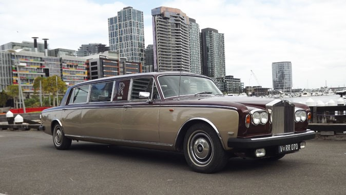 CJ Limousine Service | Wedding Transport | Vintage Rolls Royce