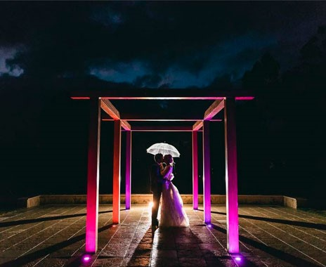 Adelaide Hills Convention Centre | Wedding Venue | Night Time Shoot