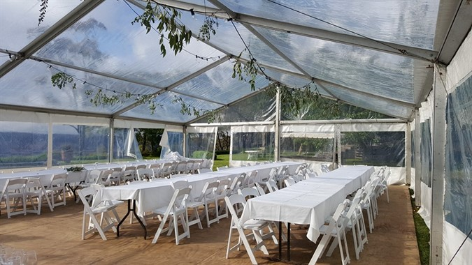 Blue Mountains Special Event Hire | Wedding Hire | Clear Roof Wedding Marquee