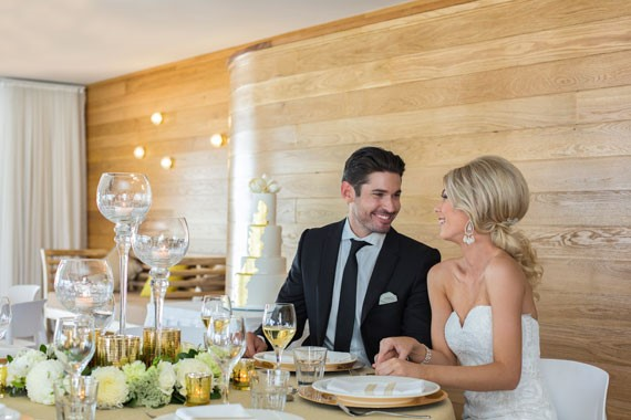 Lure, Abell Point Marina | Wedding Reception And Bride And Groom