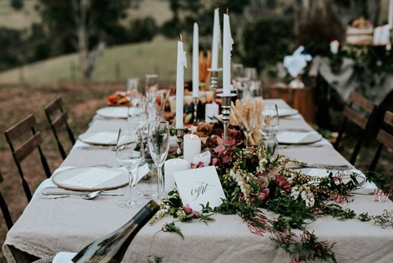 Dryridge Estate | Wedding Venue | Reception Table