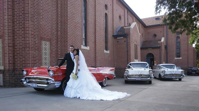 Adelaide Chevy Hire | Adelaide Wedding Transport | Bride and Groom