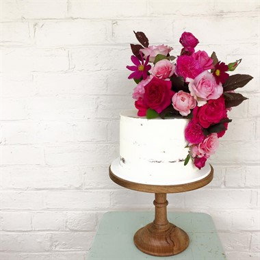 Mudgee Made | Catering | White Wedding Cake