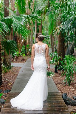 Angourie Rainforest Resort | Wedding Venue | Bride