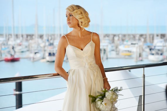 Lure, Abell Point Marina | Bride On Balcony