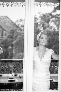 Upstairs at Freds | Wedding Venue | Black & White Photography