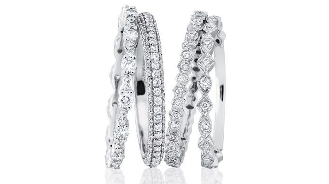 Andrew Mazzone Design Jeweller | Rings Stacked