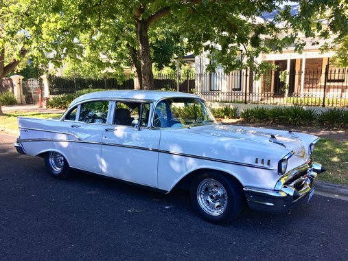 All American 57 Chevy Services | Wedding Transport | Chevrolet