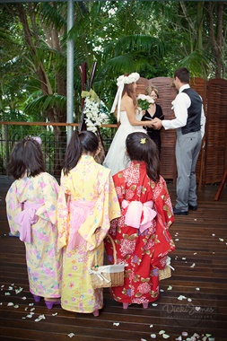 Angourie Rainforest Resort | Wedding Venue | Flower Girls