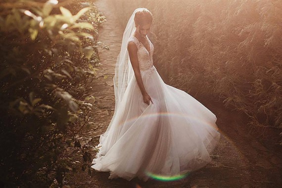 Bizzaro Bridal Couture | Bridal Fashion | Tulle & Lace Wedding Gown