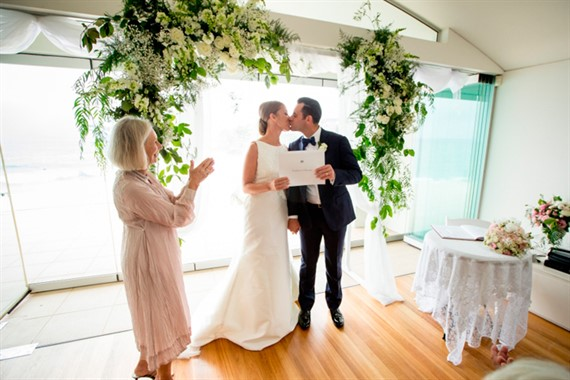 Gail Booth | Celebrant | Newly-weds