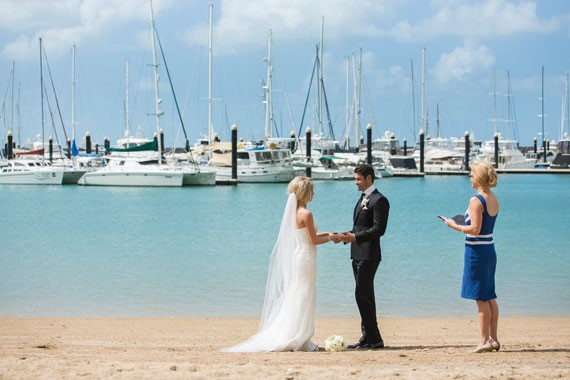 Lure, Abell Point Marina | Waterside Ceremony