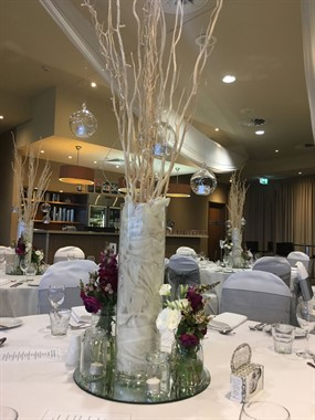 Southern Style Events | Event Hire | Wedding Centrepieces