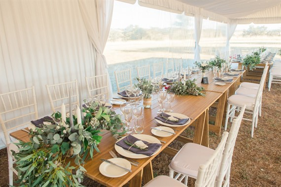 Domayn Events | Event Hire | Wedding Reception Table