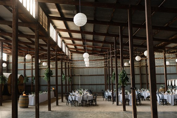 Seppeltsfield Winery | Wedding Venue | Barn Wedding