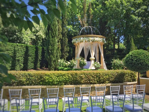 Silvestri's Of Clarendon | Wedding Venue | Outdoor Ceremony