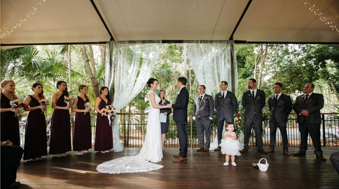 Angourie Rainforest Resort | Wedding Venue | Ceremony