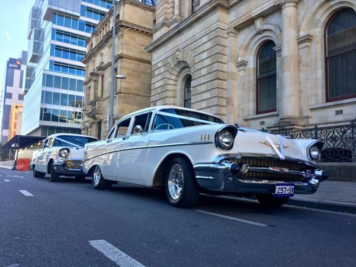 All American 57 Chevy Services | Wedding Transport | Adelaide Wedding