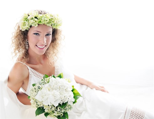 Blissful Beauty By Jael | Wedding Hair & Make-up | Flower Crown