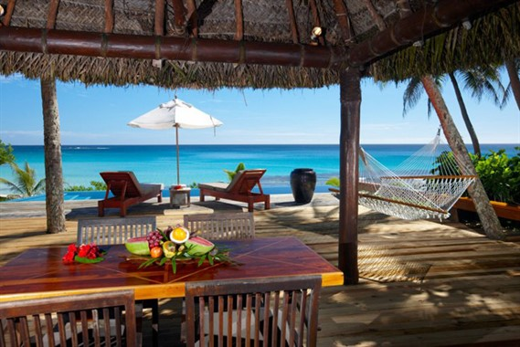 Yasawa Island Resort and Spa | Honeymoon Destination | Beachside Villa