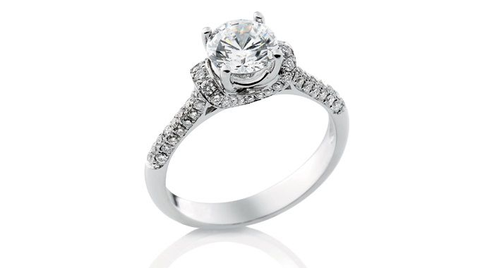 Andrew Mazzone Design Jeweller | Engagement Ring Side Stones